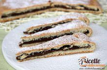 Crostata morbida allo yogurt e Nutella