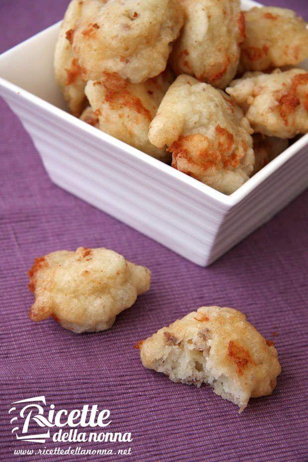 Frittelle di tartufo e scamorza ricetta e foto