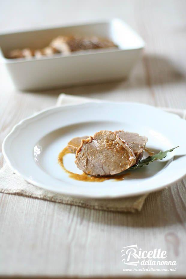 Filetto di maiale con salsa alle mele ricetta e foto