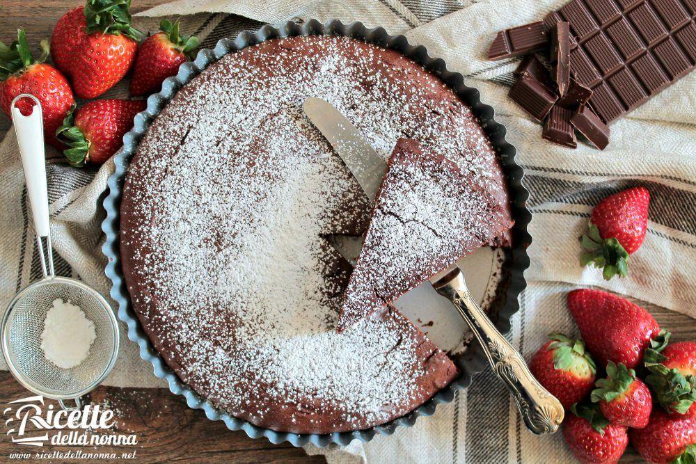 Torta Al Cioccolato Supercioccolatosa Ricette Della Nonna