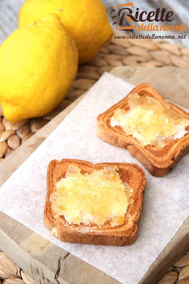 Ricetta marmellata limoni