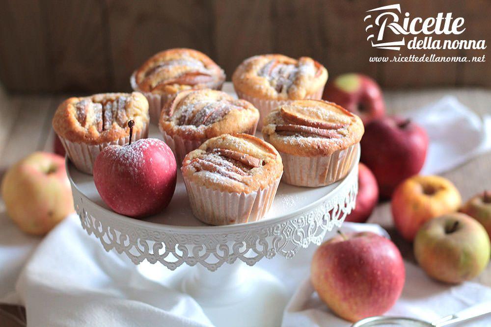 Muffin alle mele ricetta e foto
