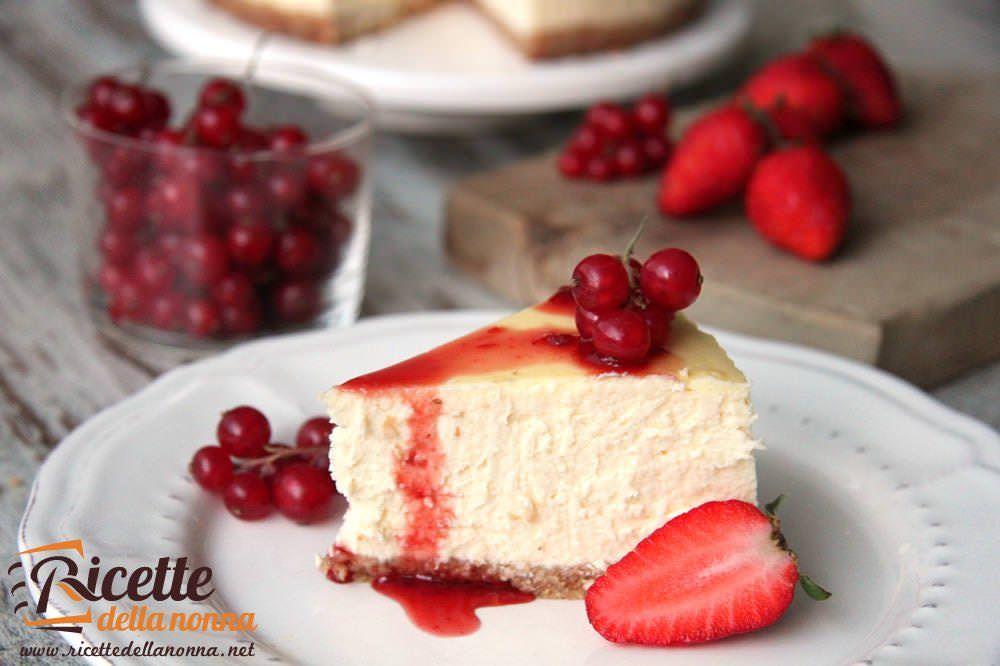 Ricetta Cheesecake Cotta.Ricetta Cheesecake Con Philadelphia Ricette Della Nonna