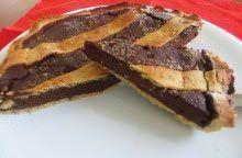 Crostata di cioccolato amaro alla liquirizia