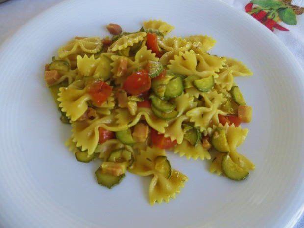 Ricette pasta pancetta e zucchine