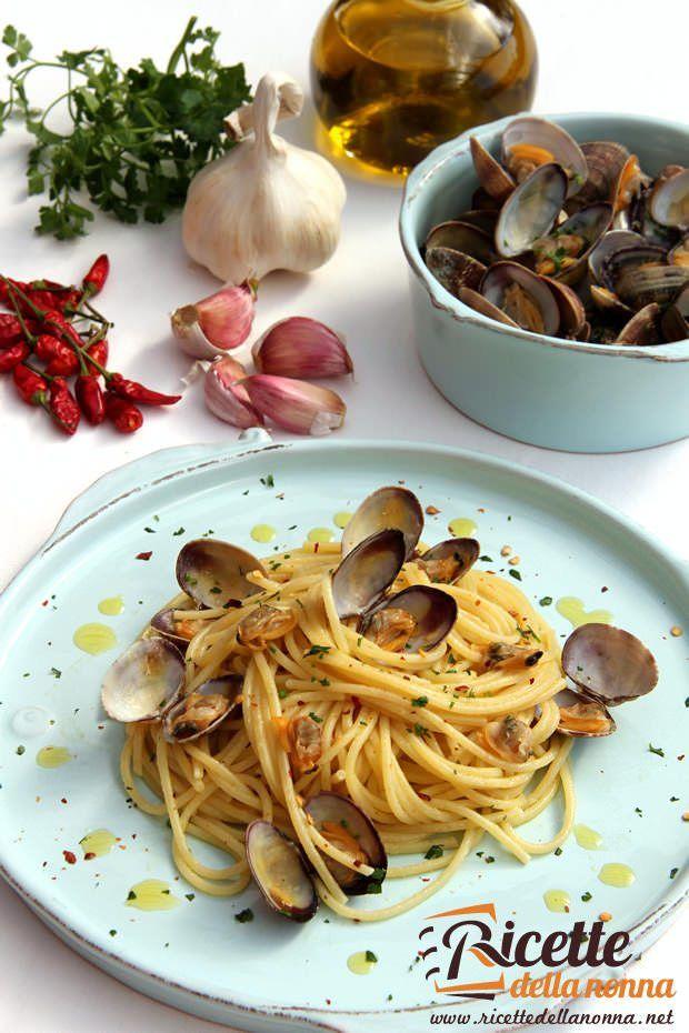 Spaghetti alle vongole veraci ricetta e foto
