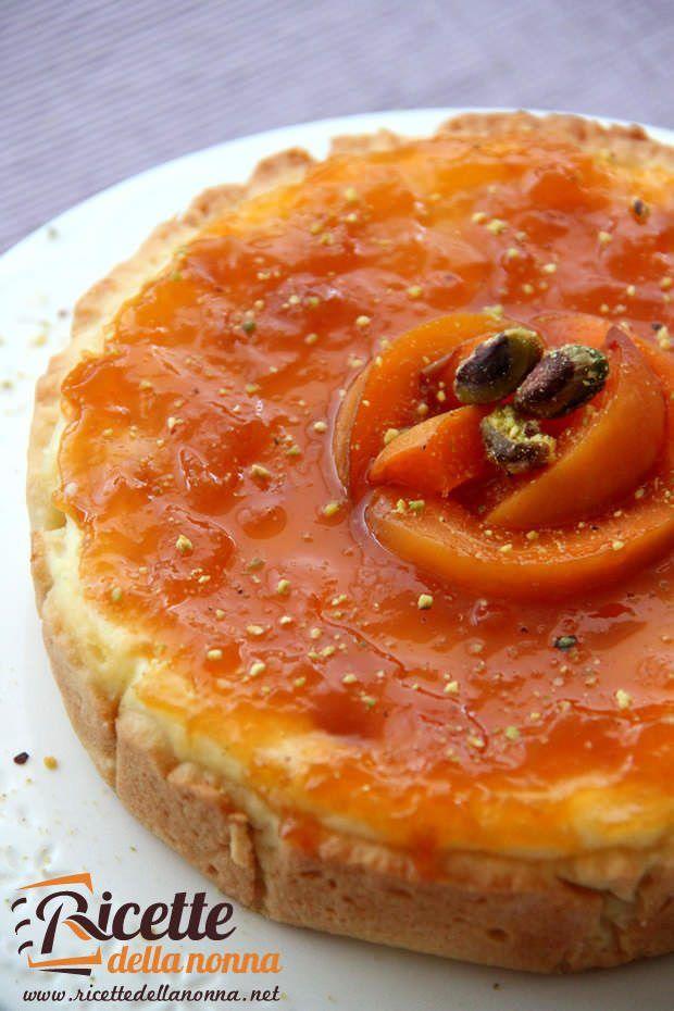 Cheesecake alle albicocche ricetta e foto