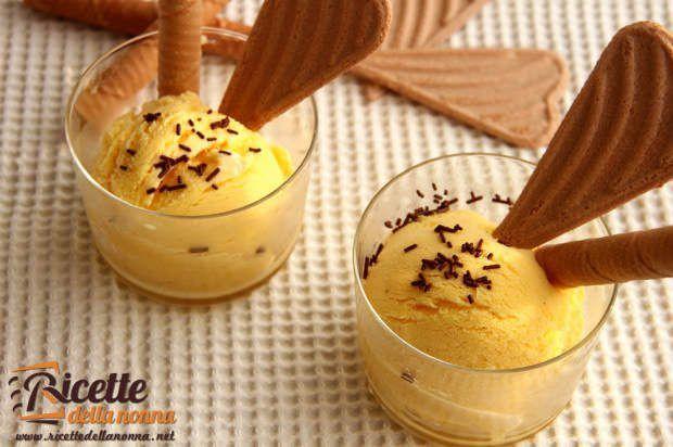 Ricetta gelato crema