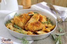 Pollo allo zenzero con patate