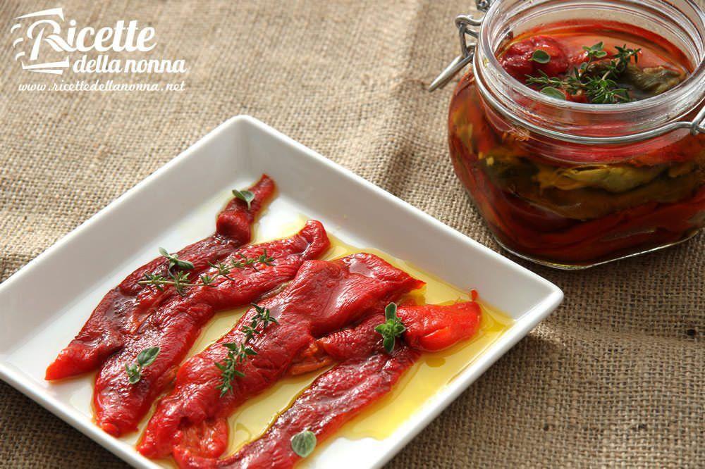 Peperoni sott 39 olio ricette della nonna for Ortaggi estivi