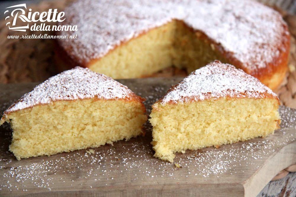 Torta al latte caldo ricette della nonna for Ricette di torte