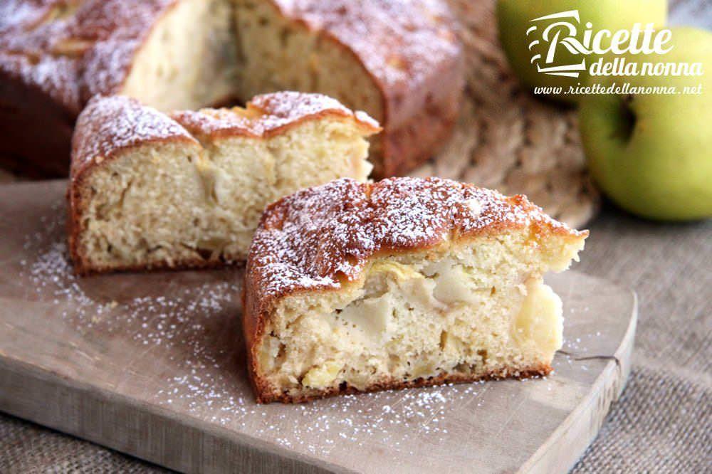 Ricetta torta di mele soffice e profumata ricette della for Ricette semplici cucina