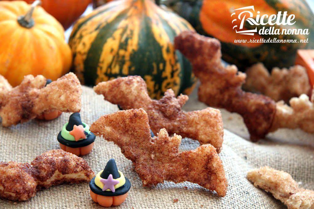 Pipistrelli dolci di Halloween