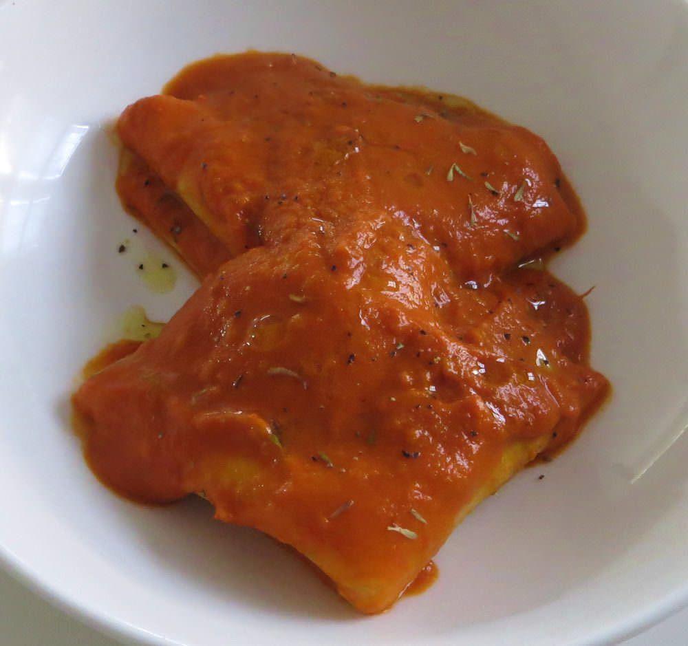 crespelle in salsa piccante
