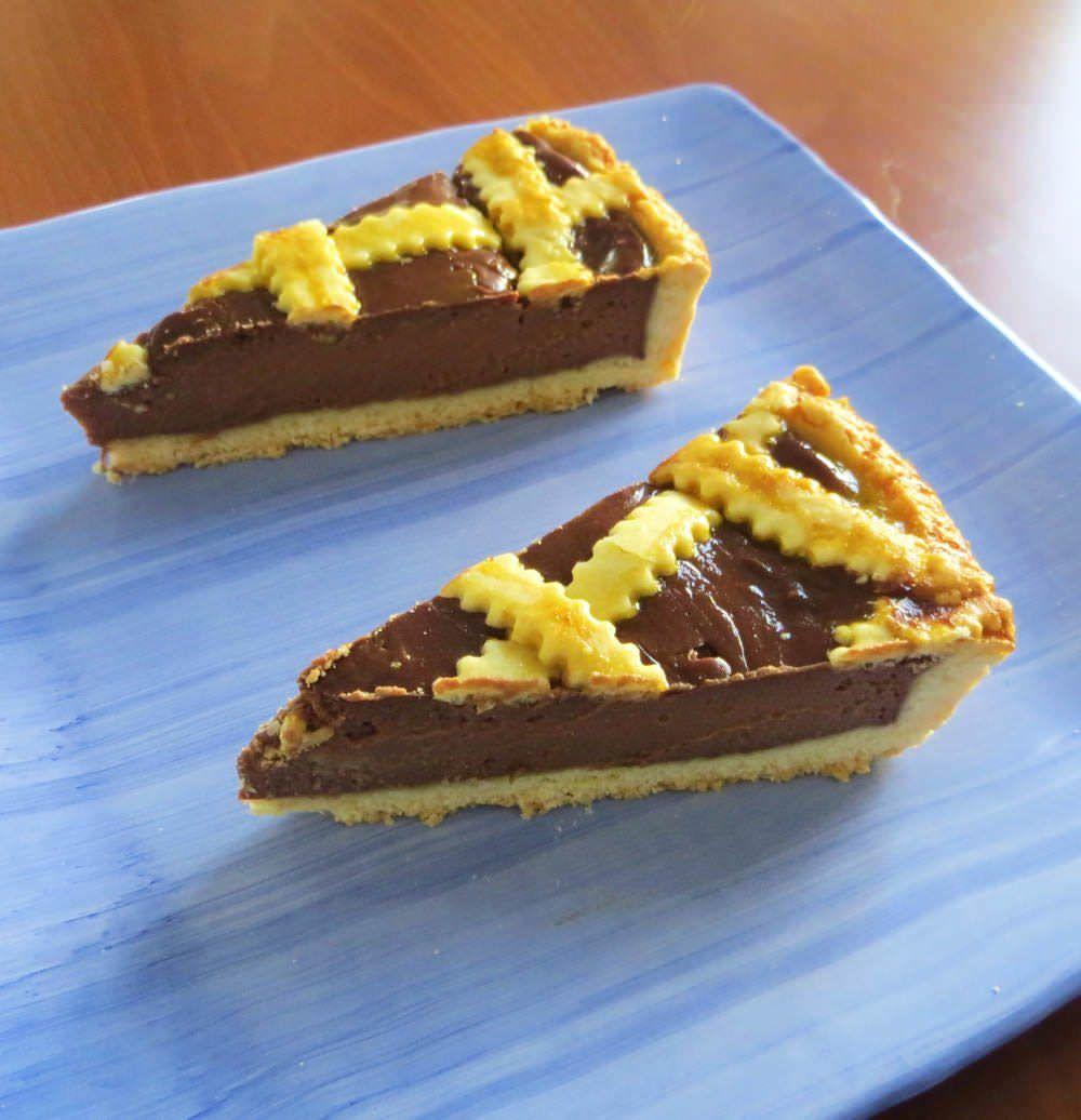 Crostata con crema di cioccolato e mascarpone ricette for What to do with mascarpone
