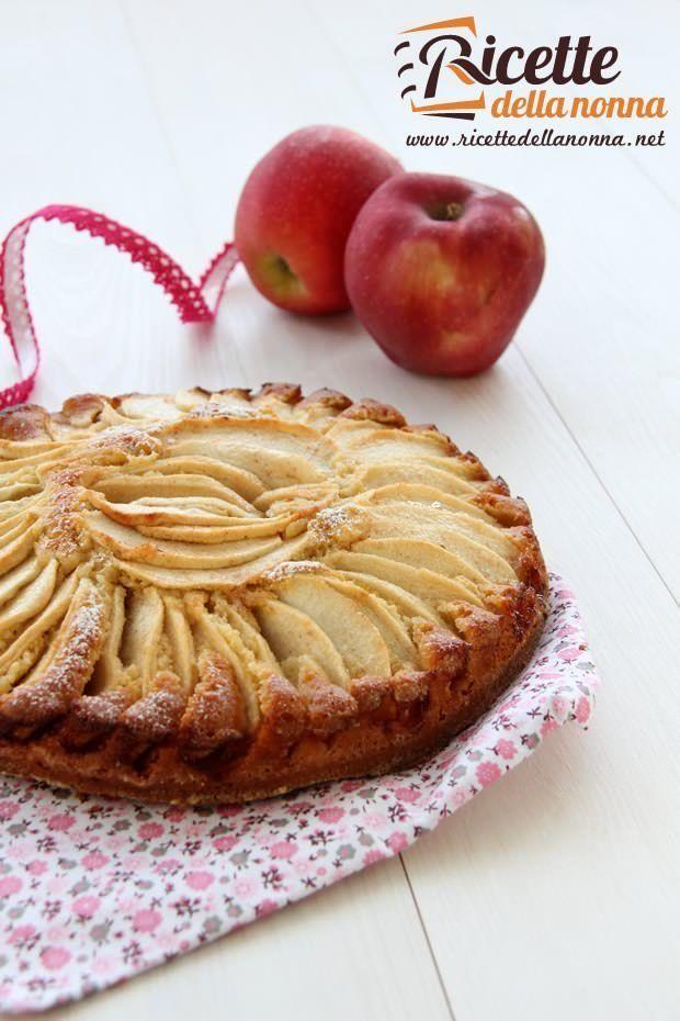 Foto torta alle mele al profumo di cannella