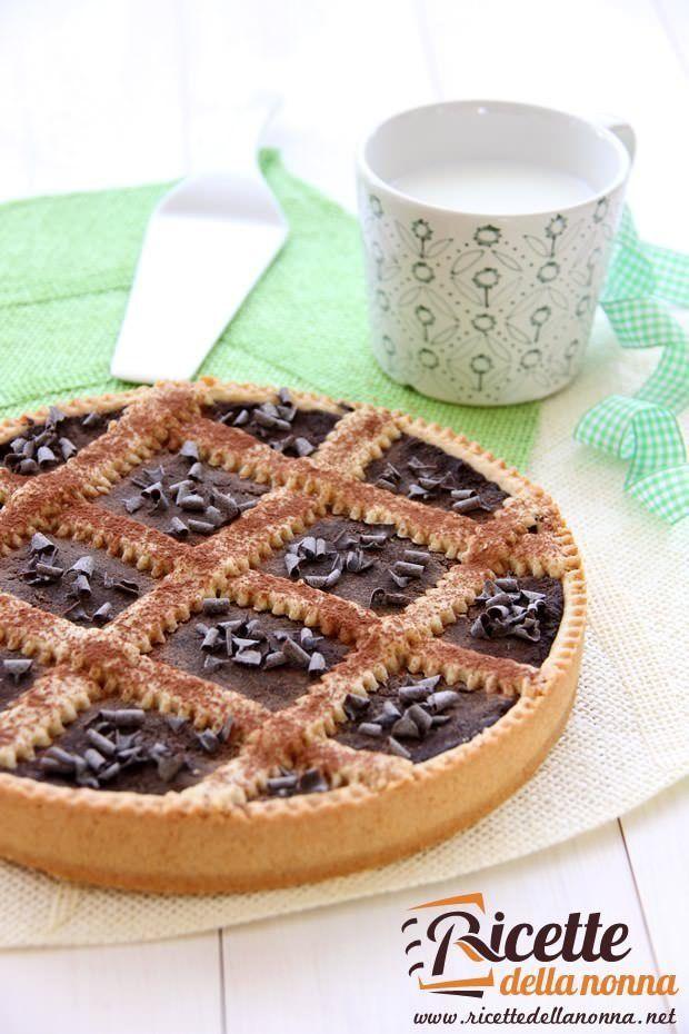Foto torta al cioccolato nero