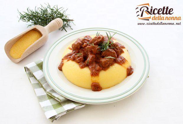 Ricetta spezzatino con polenta