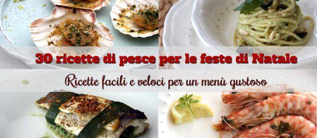 30 ricette di pesce per le feste di Natale