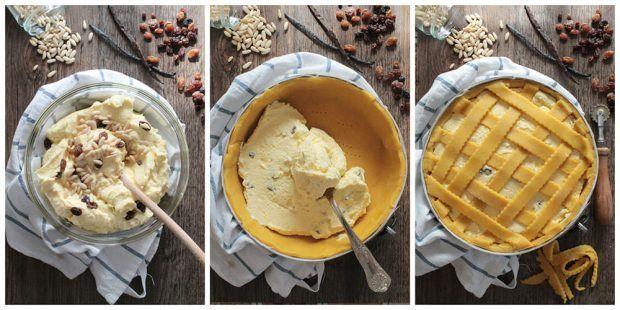 Preparazione crostata classica con la ricotta