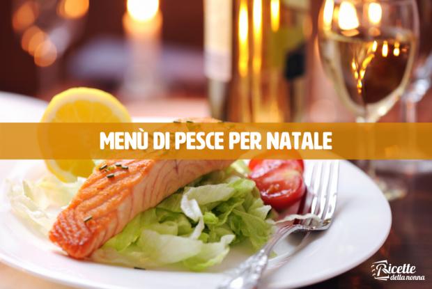 menu di natale pesce