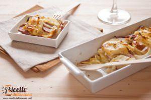 Terrina wurstel e patate