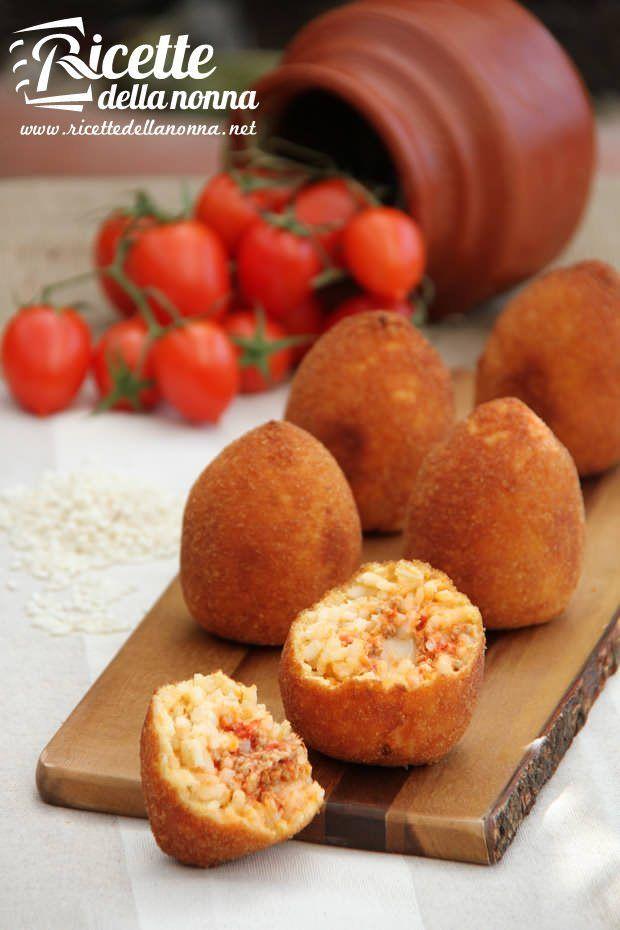 Arancini di riso siciliani