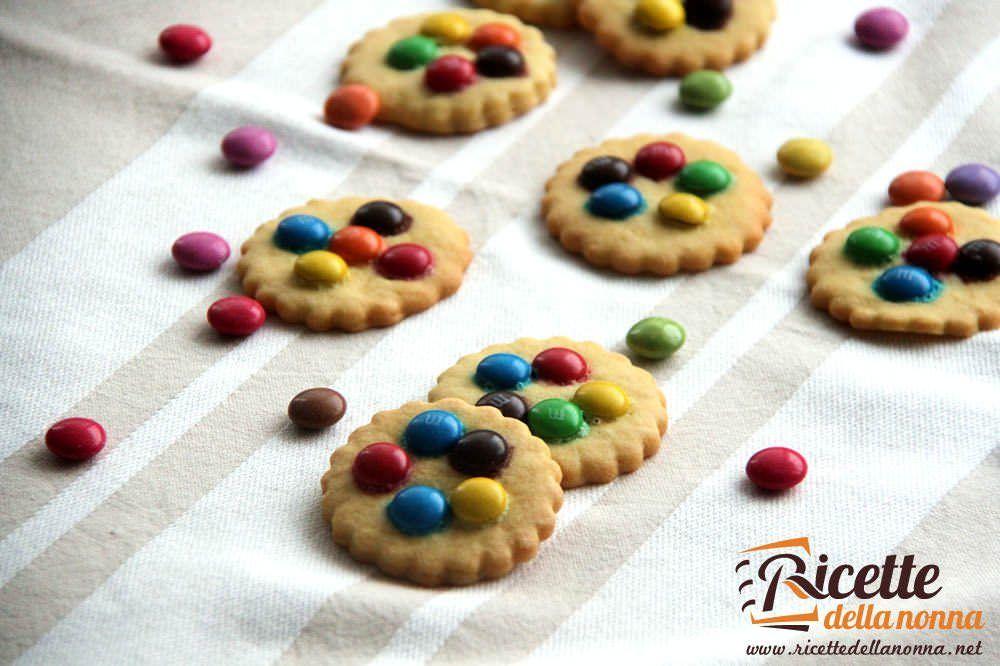 Biscotti con le Smarties
