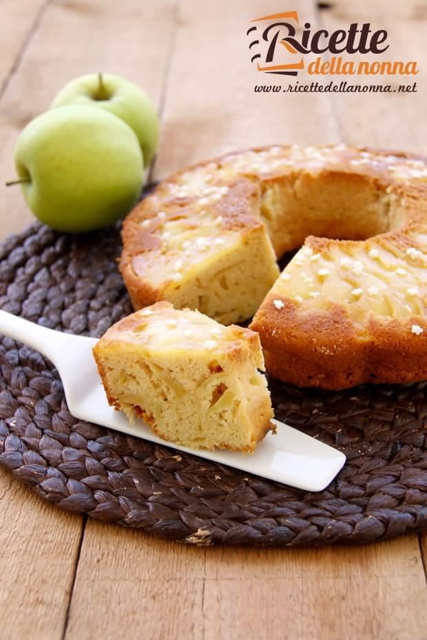 Foto ciambella alle mele