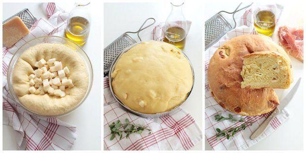 Preparazione torta al formaggio