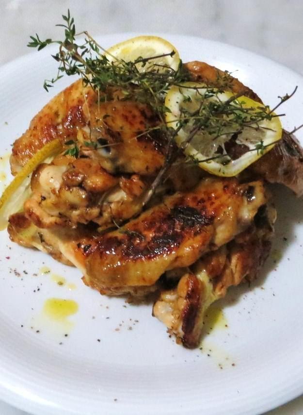 Foto di Ali di pollo al timo e limone