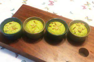 Flan ai gambi di asparagi
