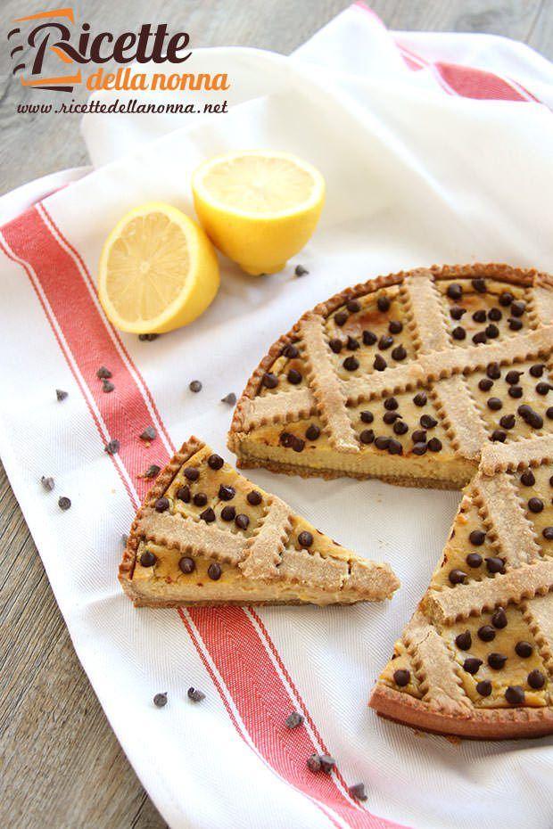 Foto crostata farro e limone