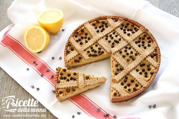 Ricetta crostata farro e limone
