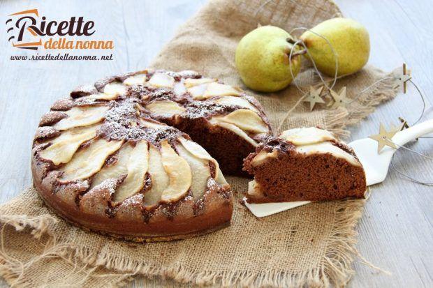 Ricetta torta cioccolato e pere
