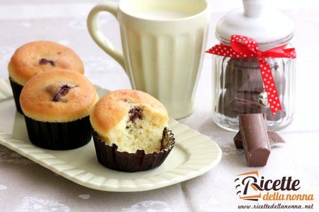 Muffin cioccolato al latte