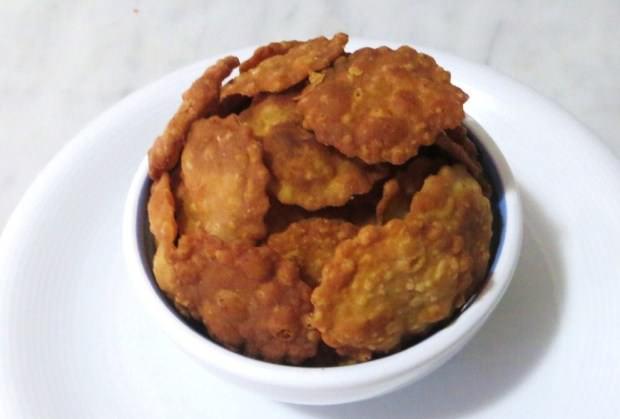 Sfogliatine integrali fritte