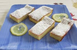 Terrina dolce di yogurt, ricotta e limone