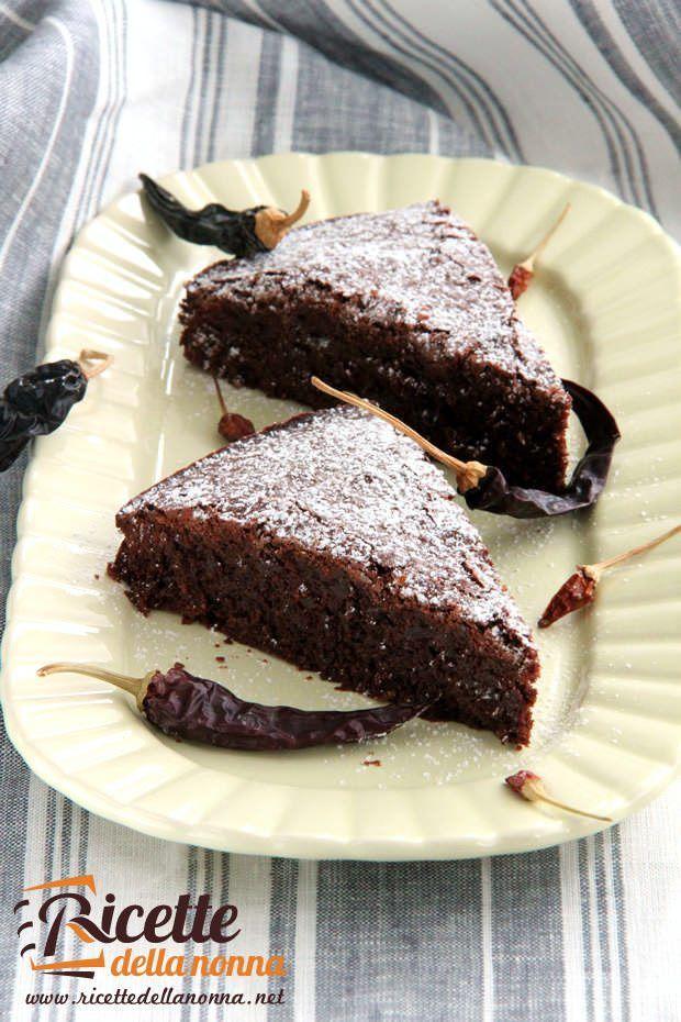 Foto di Torta cioccolato e peperoncino