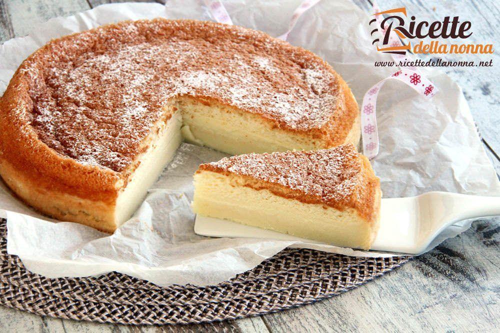 Torta magica ricette della nonna for Ricette torte semplici
