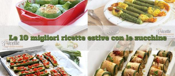 Foto 10 ricette migliori con le zucchine