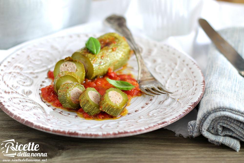 Zucchine ripiene ricetta e foto ricette della nonna for Ricette primi e secondi piatti