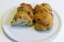 Treccia con olive e pomodori secchi