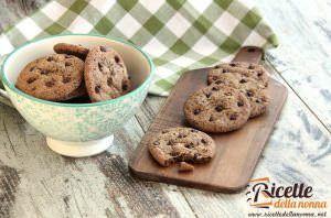 Biscotti alle gocce di cioccolato
