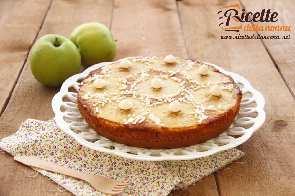 Eccezionale Torta capovolta di mele verdi | Ricette della Nonna YH21