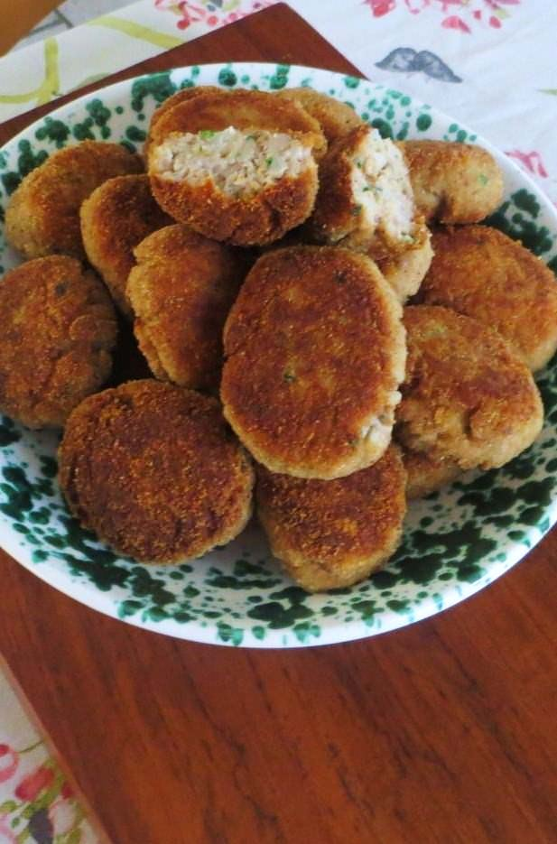Polpette di patate, carne e ricotta