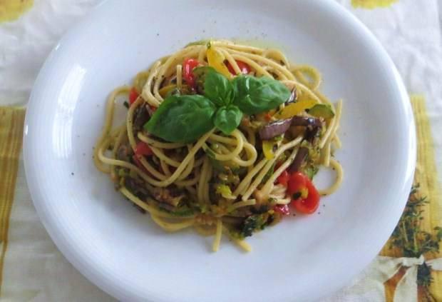 Vermicelli alle verdure estive