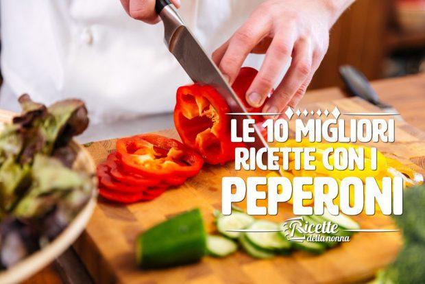 10 ricette estive con i peperoni