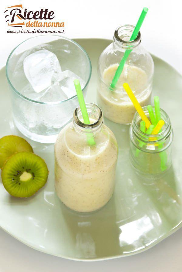 smoothie mela kiwi