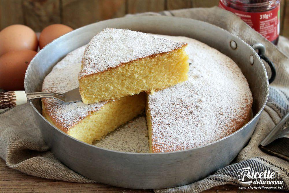 Ricetta torta margherita ricette della nonna for Ricette cucina semplici
